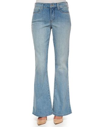 Farrah Flare-Leg Jeans, Palos Verdes
