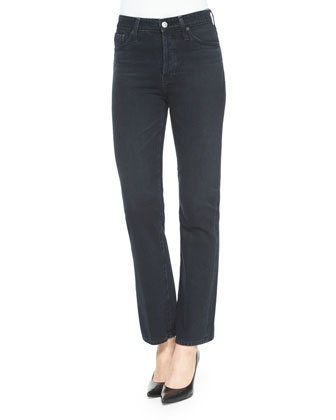 Revolution Boot-Cut Jeans, Sloe Black