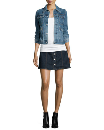 Hitt Denim Jacket, Girl Gang