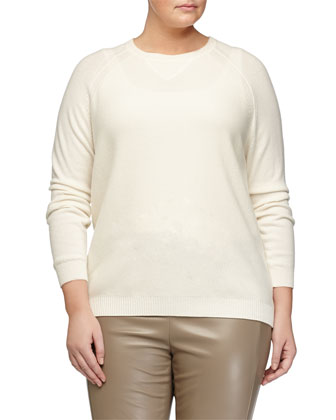 Agente Wool-Blend Sweater, Plus Size
