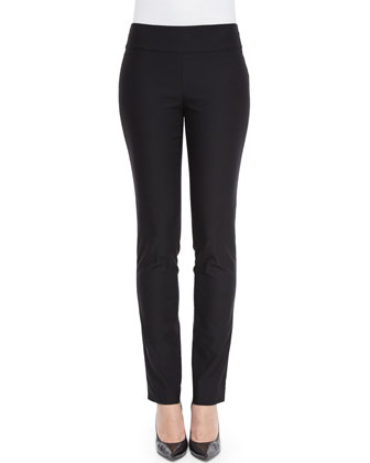 Slim Wonderstretch Pants, Black, Petite