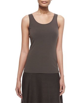 Perfect Jersey Scoop-Neck Tank, Women's