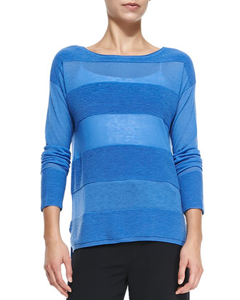 Ottoman Tonal-Stripe Sweater