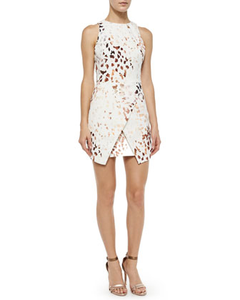 Such Great Heights Animal-Print Dress, Brown/White