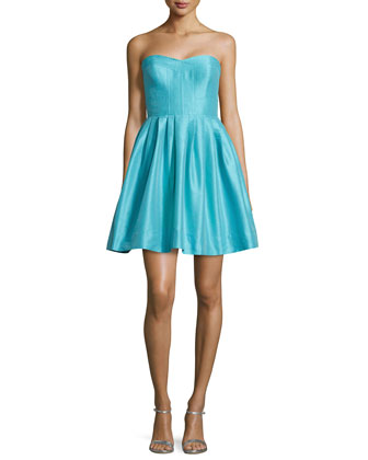 Madison Strapless Fit & Flare Dress