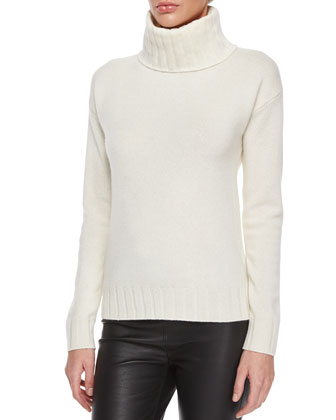 Venizka Camden Coat, Lanola Ribbed Turtleneck Sweater & Midi Camden Twill ...