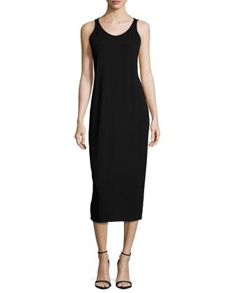 Fisher Project Plush Maxi Cardigan, Sleeveless Jersey Long Dress & Wool ...