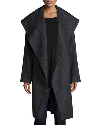 Fisher Project Alpaca Tweed Coat