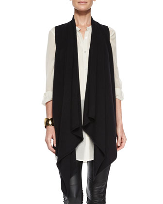 Fisher Project Cascading Cashmere Vest