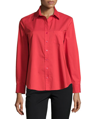Alex Poplin Blouse