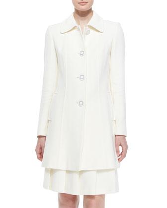 Bettina Wool-Blend Coat
