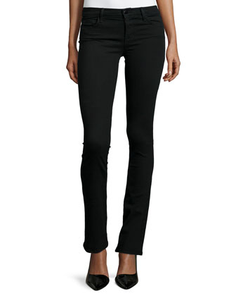 811 Mid-Rise Boot-Cut Jeans, Vanity
