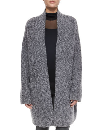 Diana Wool-Blend Sweater Coat, Ellen Double-Layer Turtleneck & Polly ...