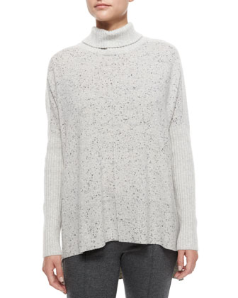 Catherine Cashmere Turtleneck Sweater