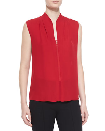 Judith Asymmetric-Back Blouse