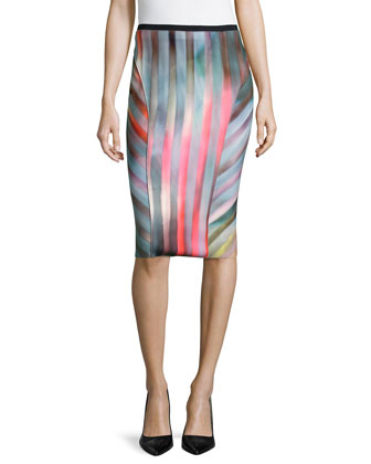 Arianna Reversible Pencil Skirt