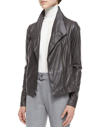 Scuba Leather Jacket