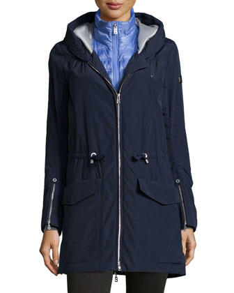 Carley Parka Jacket W/ Quilted Vest