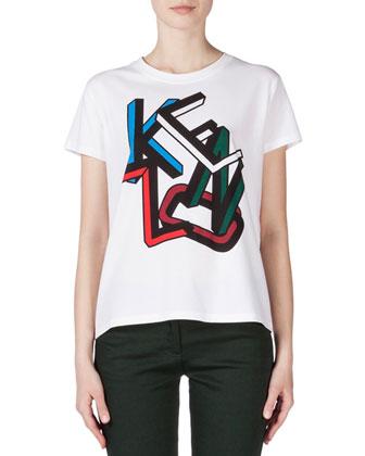 Kenzo Short-Sleeve Logo Tee
