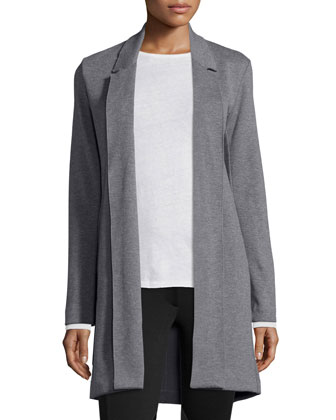 Merino Wool Driving Coat
