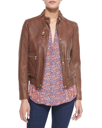 Nakotah Leather Jacket