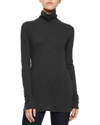 Bonnie V-Neck Ribbed Sweater, Oatmeal