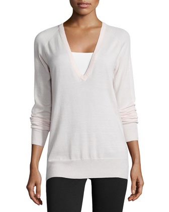 Kelsey Cashmere Knit Long Top