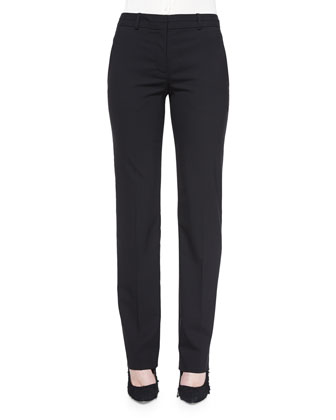 Deta Straight-Leg Dress Pants