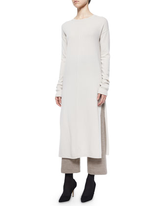 Long Cashmere Tunic