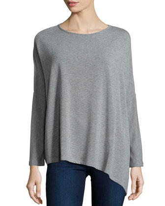 French Terry Asymmetric Top