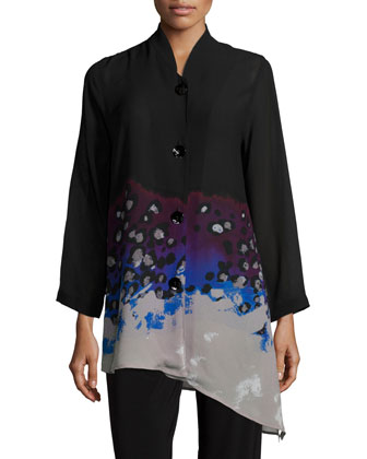 In The Mix Angled Blouse, Women's