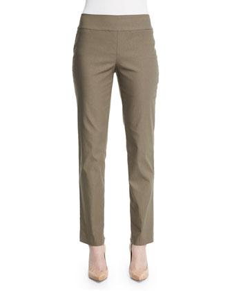 Slim Wonderstretch Pants, Washed Olive