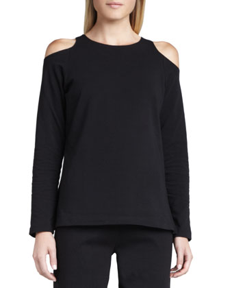 Open-Shoulder Top, Petite