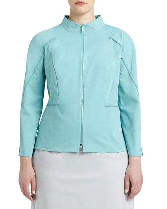 Marty Two-Zip-Front Jacket, Women's