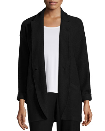 Lightweight Boiled Wool Jacket, Stretch Silk Jersey Tank, Wool Interval ...
