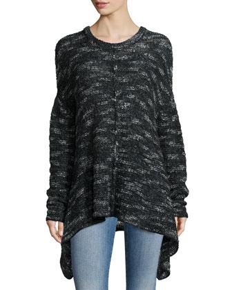 Faro Yu Knit Sweater, Gris Chine