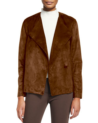 Venizka Short Suede Jacket