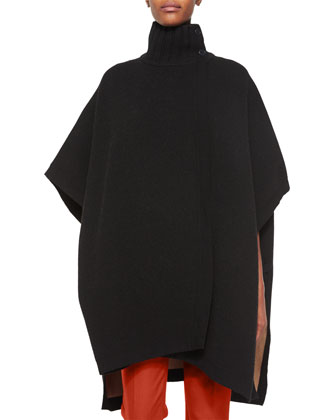 Palomina Turtleneck Knit Poncho