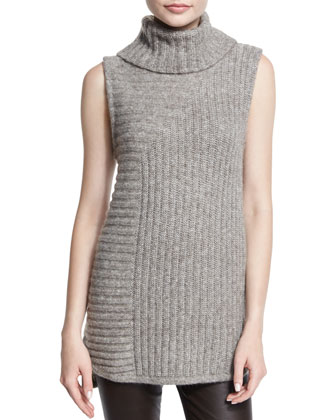 Beylor T.Caresse Mohair Turtleneck Sweater