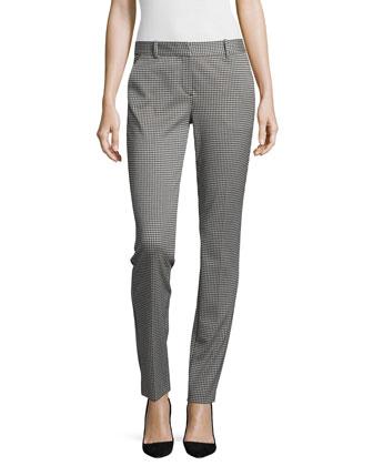 Trecca Oregon Slim-Fit Pants, Black/White