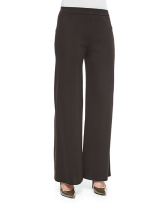 Demi Palazzo Pants, Coffee, Women's