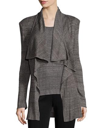 Textured Cascade Jacket