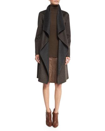 Felice Reversible Cashmere Coat