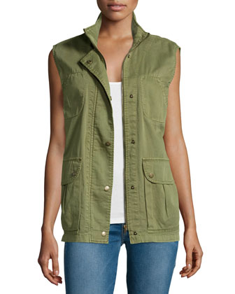 The Leisure Vest, Army Green