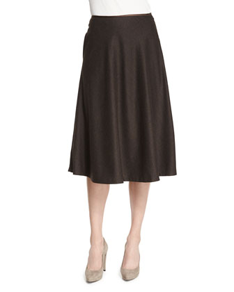 Suzie Flannel A-Line Skirt