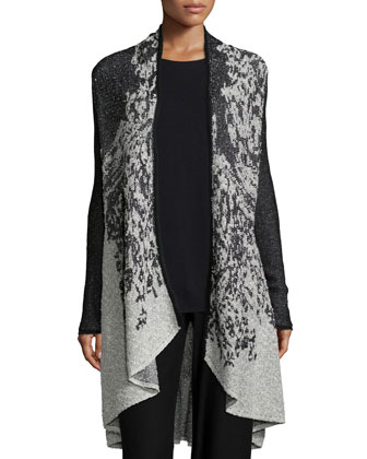 Nightfade High-Low Cardigan