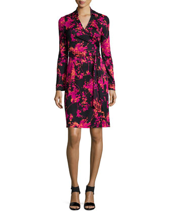 New Jeanne Two Floral Daze Wrap Dress