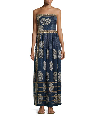 Rosanna Strapless Maxi Dress, Apparition