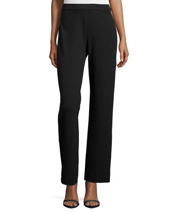 Full-Length Pants, Black, Petite