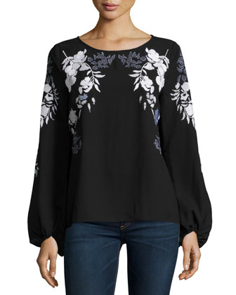 Emilia Embroidered Blouse